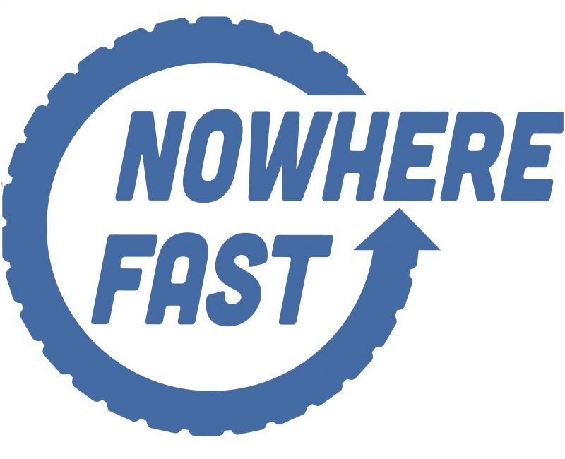 Nowhere Fast Podcast logo